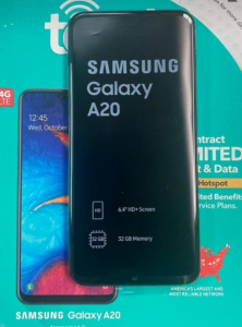 Precio del Samsung Galaxy A20 en honduras